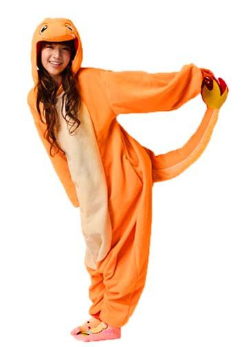 The world of Pokémon has always enchanted us. Now you can be one too! Bring home the Charmander with this comfortable and fun onesie made with soft and cozy fleece. As one of the starter Pokémon, you