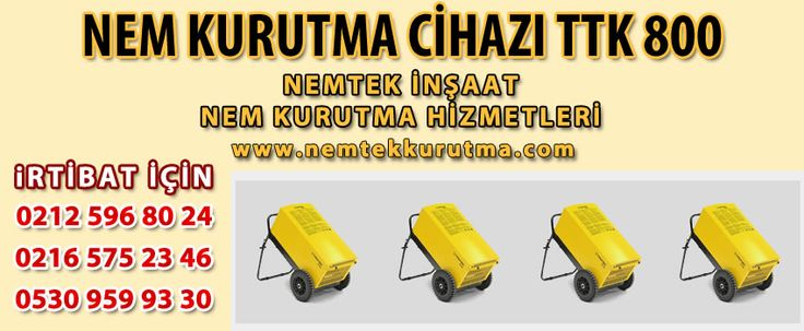 Nem Kurutma Cihazı TTK 800   NEMTEK NEM KURUTMA 530 959 9330 http://www.nemtekkurutma.com/pagedetails/57/nem-kurutma-cihazi-ttk-800/