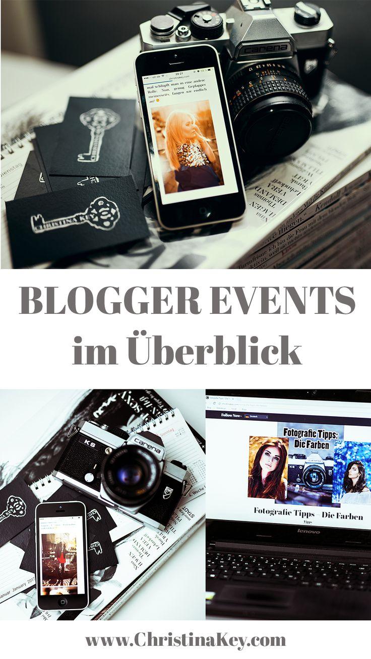 Blogger Tipps: Alle wichtigen Blogger Events in Deutschland, Schweiz und Österreich im Überblick. Nach Kategorien geordnet - Endlich alle wichtigen Termine auf einen Blick!