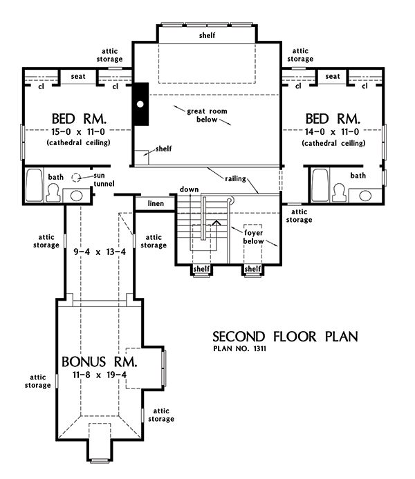 The tristan house plan images see photos of don gardner for Don gardner floor plans