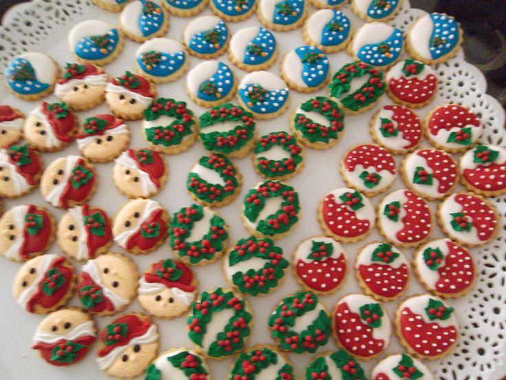 Galletas de martequilla decoradas