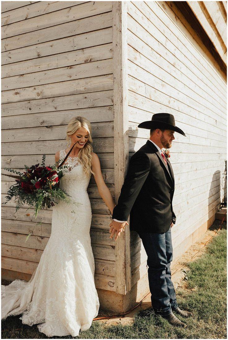 Josie England Photography. Barn wedding. Fall wedding. Fall wedding colors. Fall wedding inspiration. Prayer before the ceremony.