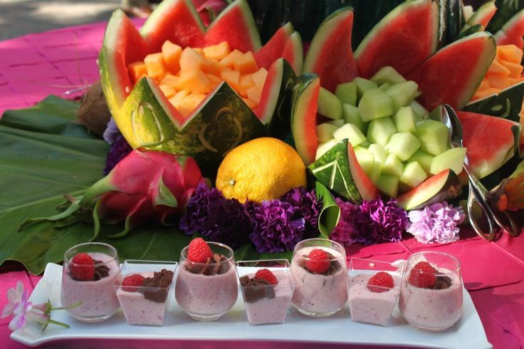 Luau Party Food | Hawaiian Luau Party | Food and Drink Ideas