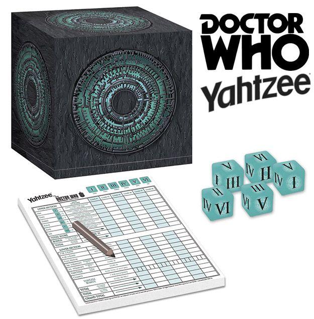Yahtzee Doctor Who: Caixa de Pandorica