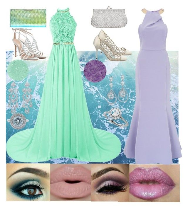 """Mermaid queens"" by polynesiangoddess on Polyvore"