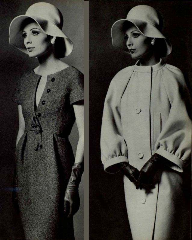 1963 Nina Ricci @vintageclothin.com