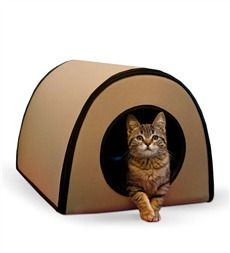 Thermo-Kitty Heated Outdoor Cat House