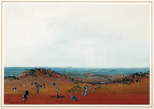 Fred Williams, Geelong Landscape