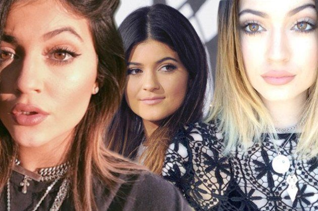 Kylie Jenner Then and Now,hmmm what's new?