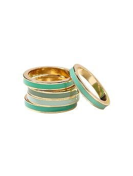 Banana Republic Aqua stackable ring $39.50Stackable Rings, Aqua Stackable, Aqua Stacked, Style, Stacked Rings, Gold Rings, Banana Republic, Bananas Republic, Accessorizing