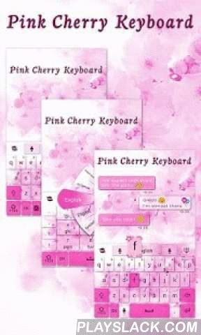 Pink Cherry GO Keyboard Theme  Android App - playslack.com ,  Pink Cherry theme is an elaborate theme made by Emoji GO Keyboard Team. Wish you like it!Get this COOL theme to make you GO KEYBOARD - EMOJI, EMOTICONS more lovely and colorful.★You may get this fantastic theme via two ways:a. Pay $ with Google in-app billing (IAP)b. Get it FREE with Getjar Gold (may need install few sponsored free apps)Thank you so much for your support!★Notice:- GO Keyboard theme is only available for phones…