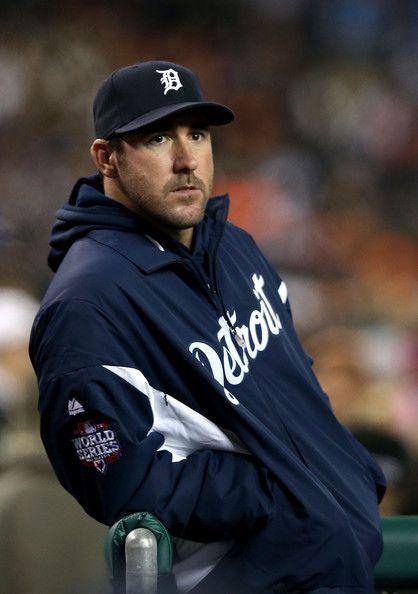Justin Verlander - World Series - San Francisco Giants v Detroit Tigers - Game Four