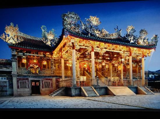 """Khoo Kongsi in Georgetown, Penang, Malaysia. """"The beauty and rich history of…"""