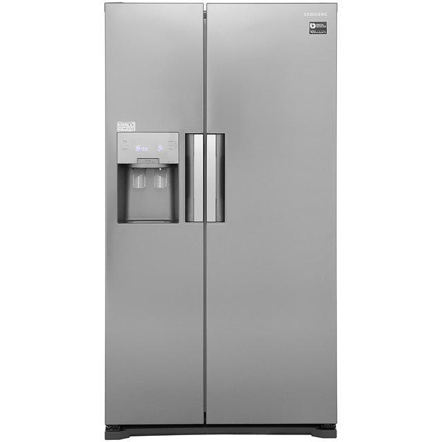 Samsung H-Series RS7667FHCSP American Fridge Freezer - Platinum Inox