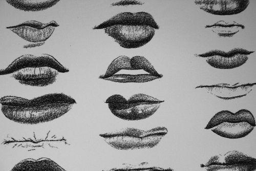 Everything you need to draw lips / tout ce qu'il faut savoir pour dessiner les lèvres #croquis #sketches