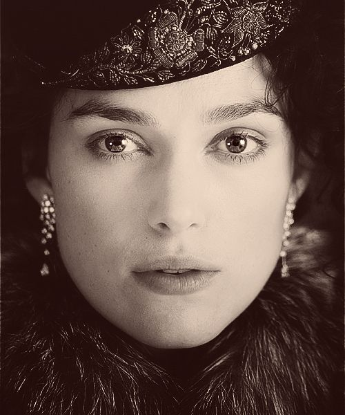"""For S.: Add it to the """"Must See in 2012 Movie List""""...Anna Karenina with Keira Knightley, Jude Law, and Emily Watson.  Costuming should be fabulous!"""