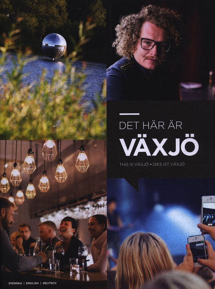 https://flic.kr/p/NK4t1N   Det hår år Växjö/ This is Växjö/ Dies ist Växjö; 2015_1, Kronoberg county, Sweden