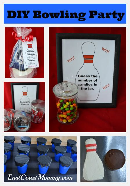 This website has fantastic ideas for making a bowling party extra special!