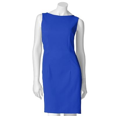 ab studio solid sheath dress kohls ab studio solid sheath dress