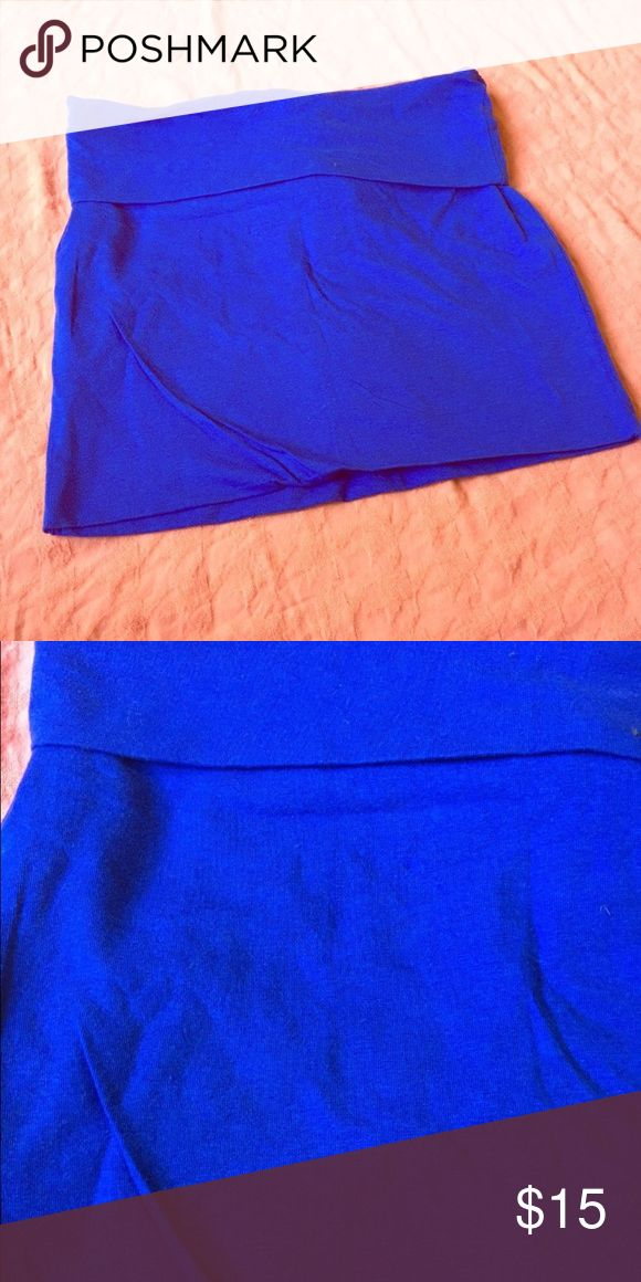 BNWT Royal Blue Bodycon Mini Skirt Brilliant royal blue mini skirt! This color is absolutely striking (second image true to color). BNWT bodycon style mini skirt. Perfect for girls night out! Skirts Mini