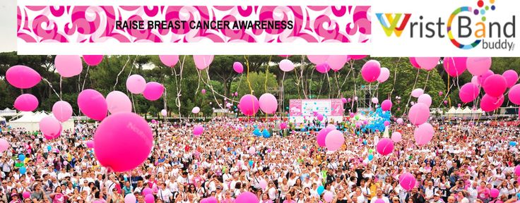 Buy Breast cancer Awareness Wristbands in Bulk