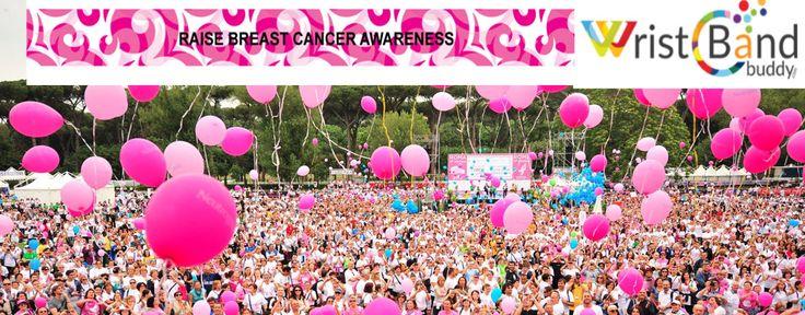 Buy Breast cancer Awareness Wristbands in Bulk