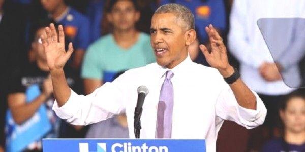 Obama hace duras criticas a Trump y Marco Rubio; destaca carrera de Hillary