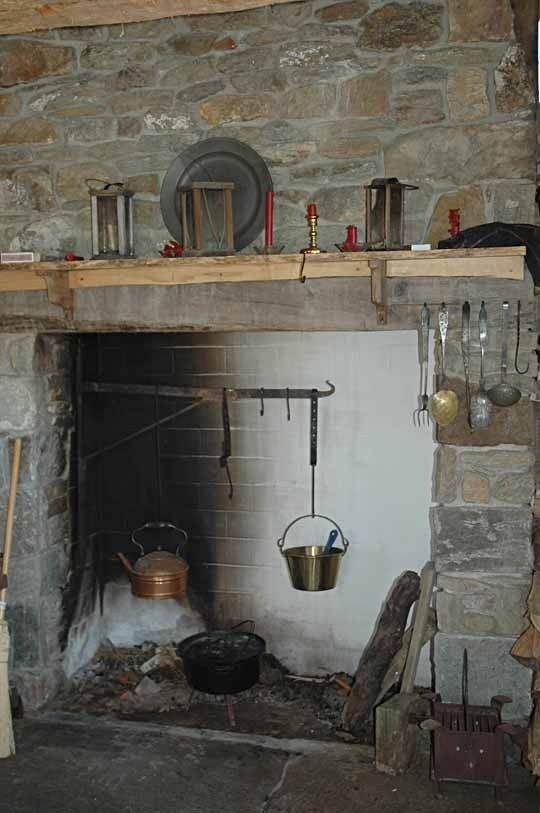 What Is An Old Fashioned Wood Camp Kitchen
