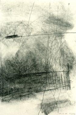 justanothermasterpiece:  Gerhard Richter, 21.12.1985, 1985, 23.8cm x 16cm, Graphite on paper.