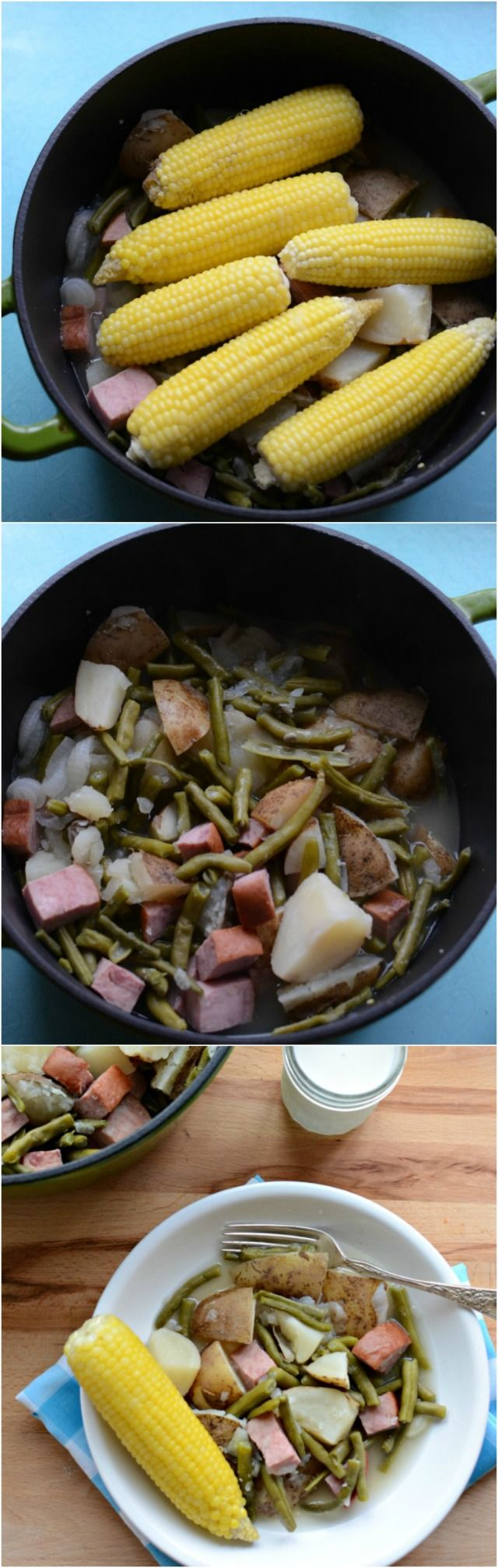 One of our very favorite One Pot Wonders! My kids gobble this up.