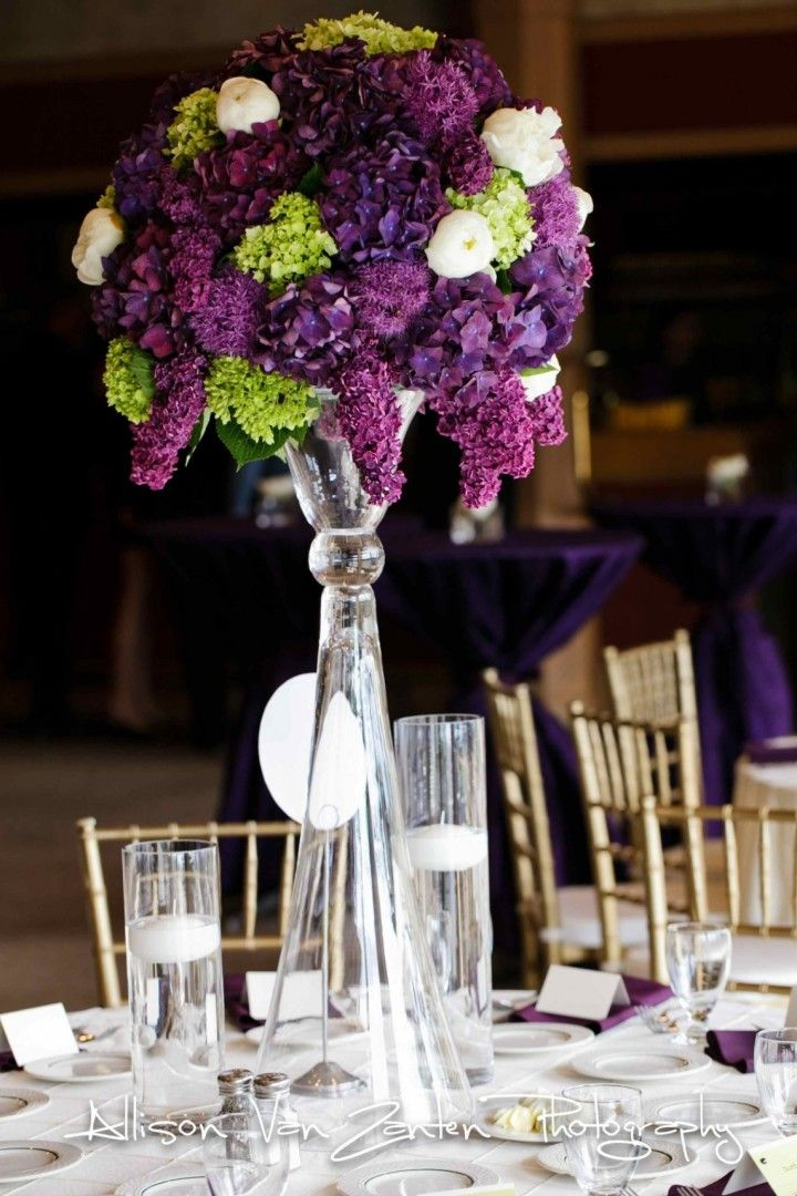 Best purple wedding flowers images on pinterest