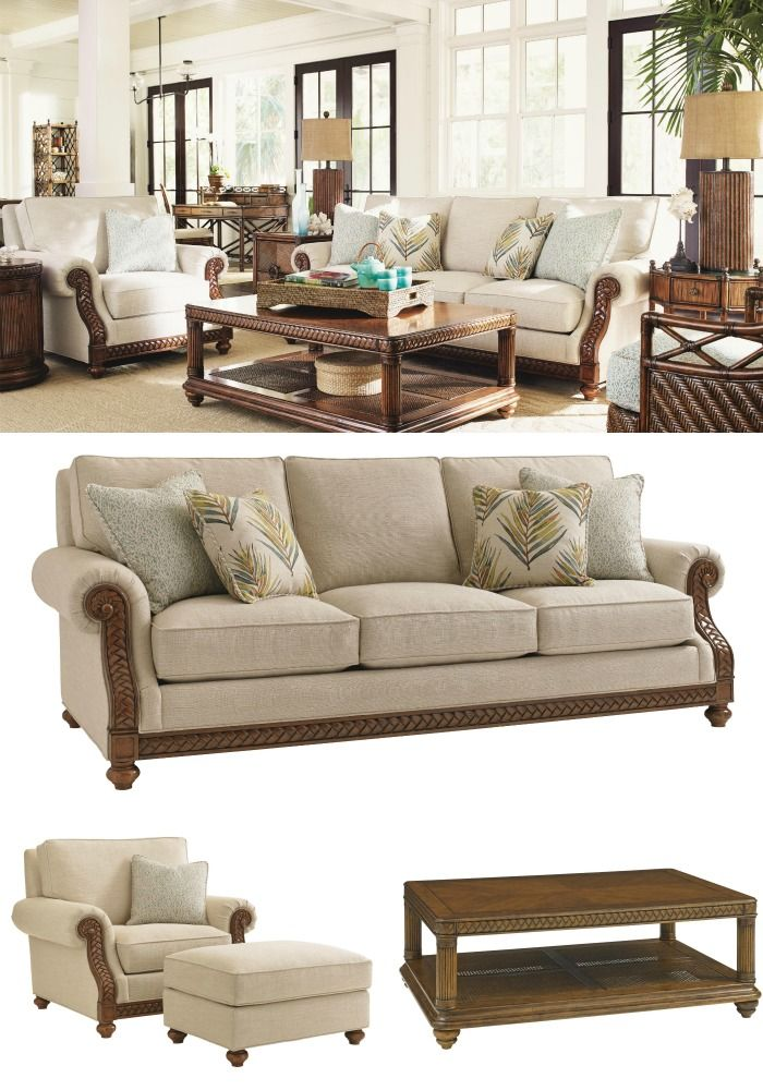 1000 images about bwic decor on pinterest ralph lauren for Tropical living room furniture