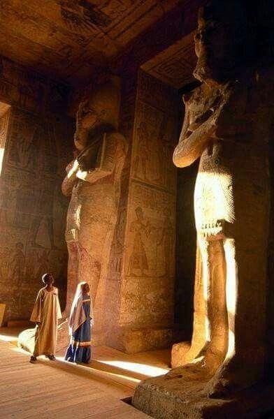Inside the Abu Simbel Temple in Aswan Egypt  <3 Admin: Mahmoud Yousef