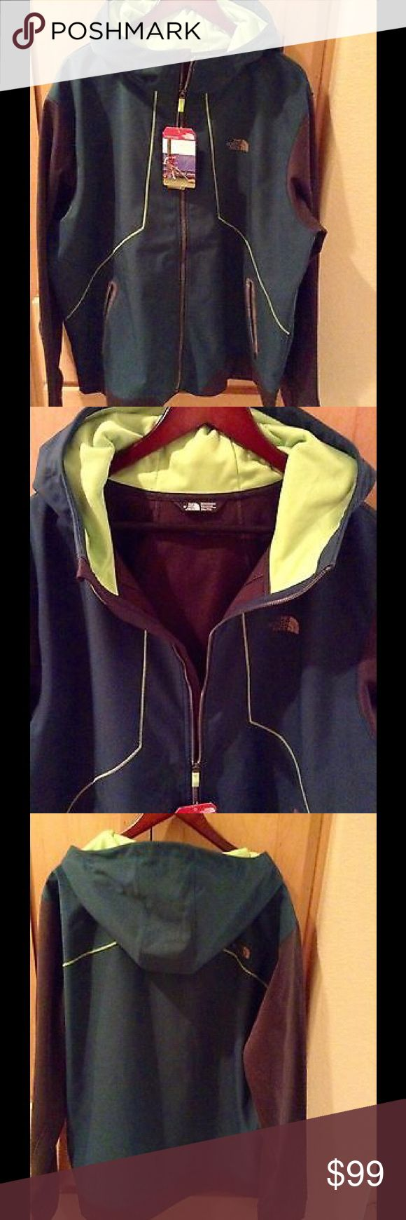 NEW The North Face Men's Jacket Brand new Men's Kilowatt Jacket in XXL in depth gin/asphlgy color. No trade.  Price is firm. North Face Jackets & Coats