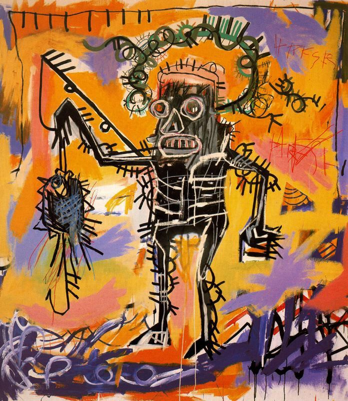 jean michel basquiat paintings - Google Search
