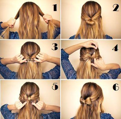 Strik maken van je eigen haar!