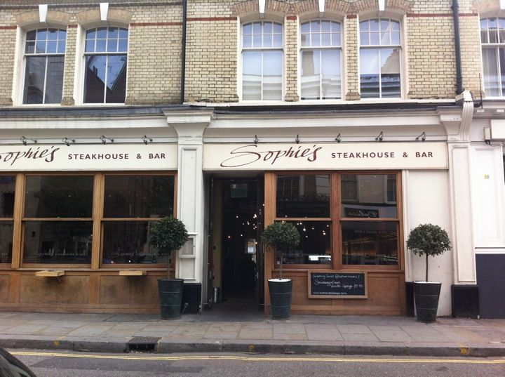 Unpretentious 90s New York style and my fav steak house in London