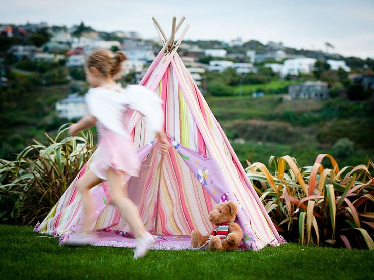 Fun Design: 10 Fabulous Teepees For That Playful Kidsu0027 Room