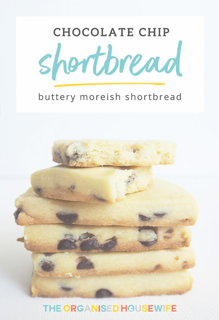 Shortbread is the easiest of all the Christmas cookies to make. Find Cate's delicious Chocolate Chip Shortbread recipe here.