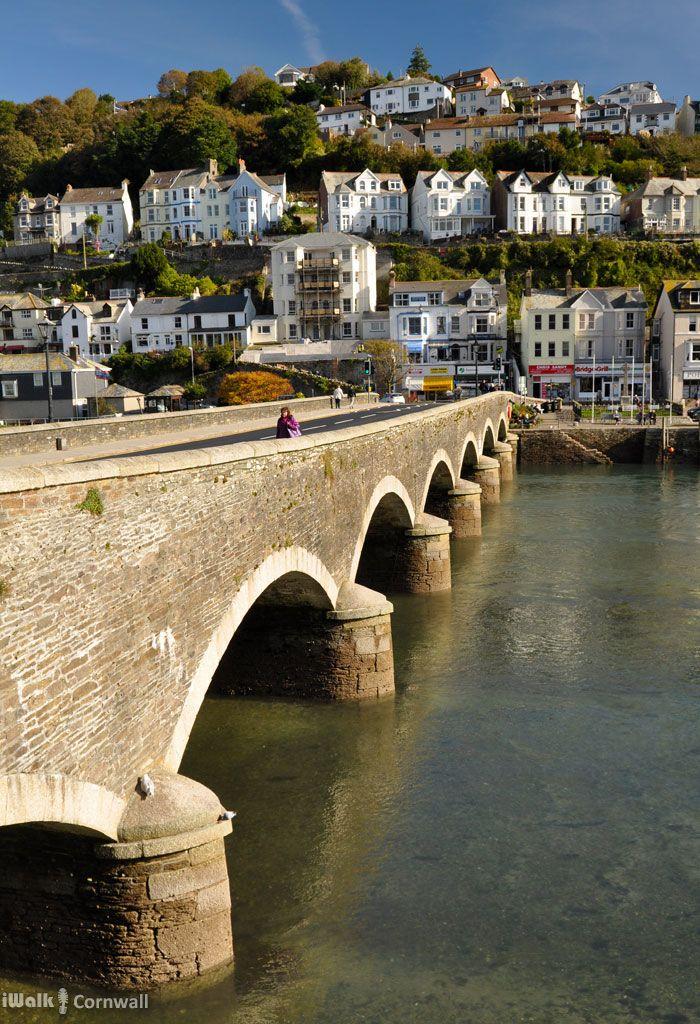 Bridge at Looe, Cornwall - http://www.londonvacationsguide.com/