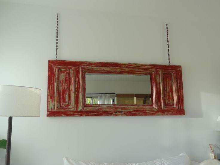 el espejo....