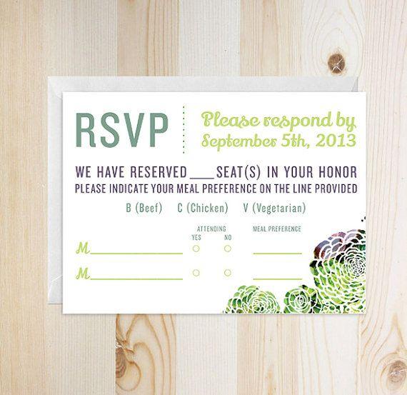 12 best Wedding Invites images – Sample Wedding Rsvp Cards