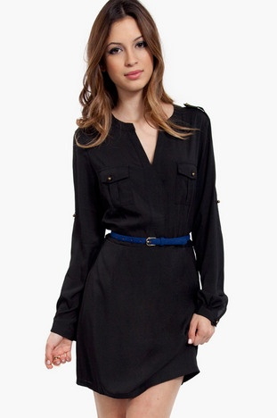 Upfront* Isabelle Double Pocket Shirt Dress $58 at www.tobi.com