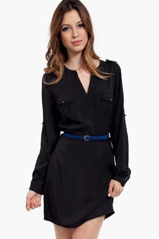 Upfront* Isabelle Double Pocket Shirt Dress $58 at www.tobi.com