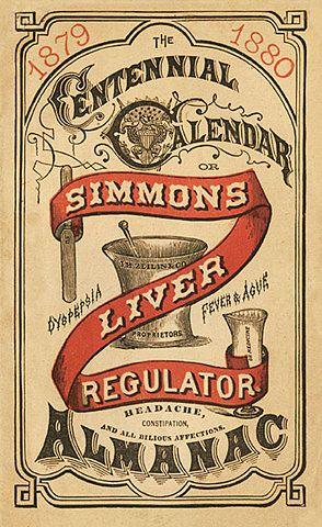 J. H. Zeilin & Company / Simmons Liver Regulator | Sheaff : ephemera
