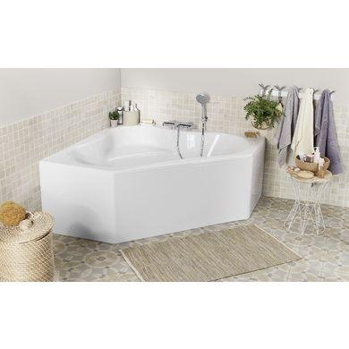 Baignoire d'angle en toplax FAMILY - Salle de bains
