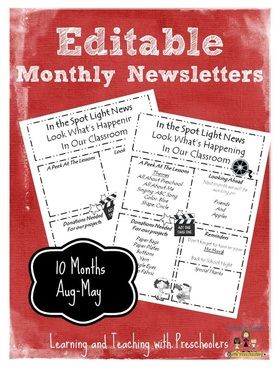 78 images about newsletters on pinterest newsletter for Free editable newsletter templates