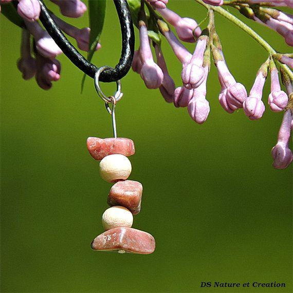 Bijou boheme fait main pendentif pierre par DSNatureetCreation www.etsy.com/fr/listing/231891131/bijou-boheme-fait-main-pendentif-pierre