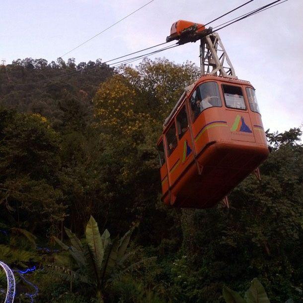 Teleférico de Monserrate, Bogotá