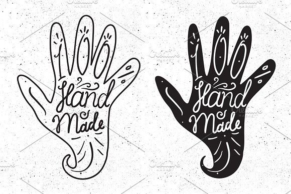 100 % Hand Made by barsrsind on @creativemarket